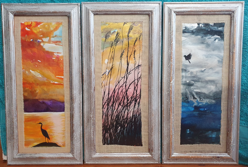 (CreativeWork) Sunrise sunset. by Keir Jamieson. Mixed Media. Shop online at Bluethumb.