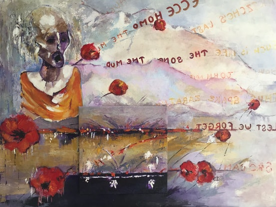 (CreativeWork) THE SONG OF THE MUD. by Chantal Kwast-Greff. Oil. Shop online at Bluethumb.