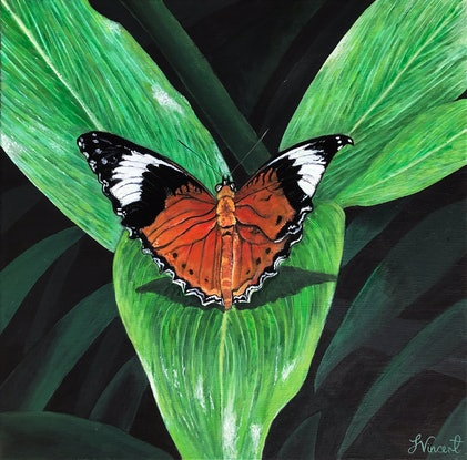 (CreativeWork) Adaption by Sandra Vincent. Acrylic Paint. Shop online at Bluethumb.