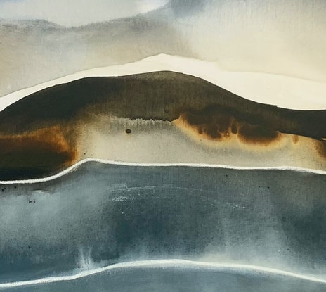 (CreativeWork) Hanalei Bay 7 by Dinah Wakefield. Acrylic Paint. Shop online at Bluethumb.