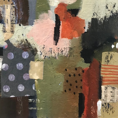 (CreativeWork) In The Pink by Ann Neagle. Mixed Media. Shop online at Bluethumb.