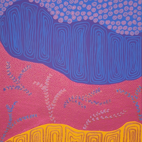 (CreativeWork) My Country 2 (2020) by Kayannie Denigan. Acrylic Paint. Shop online at Bluethumb.