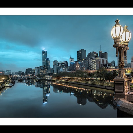 (CreativeWork) Melbourne Arising Ed. 46 of 200 by Nick Psomiadis. Photograph. Shop online at Bluethumb.
