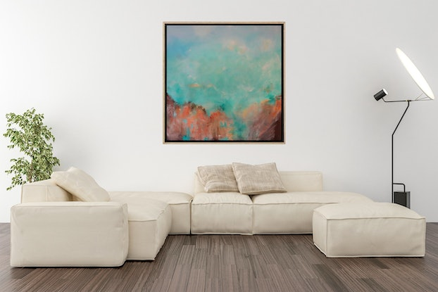 (CreativeWork) Sound of Silence by Gareth Butcher. Acrylic Paint. Shop online at Bluethumb.