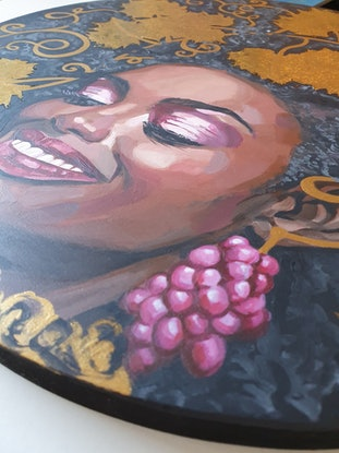 (CreativeWork) That Marvinellous Feeling! by Pascale Garlinge. Acrylic Paint. Shop online at Bluethumb.
