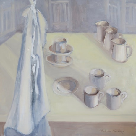 (CreativeWork) Morning Light by Barbara Aroney. Oil Paint. Shop online at Bluethumb.