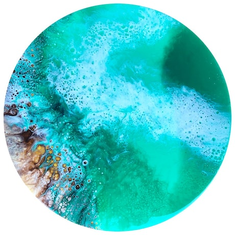 (CreativeWork) OCEANIA  by Fujan Willemse. Resin. Shop online at Bluethumb.
