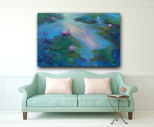 (CreativeWork) Morning Light by Sandra Michele Knight. Oil Paint. Shop online at Bluethumb.