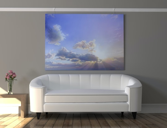 (CreativeWork) Grand Finale by David Tracey. Acrylic. Shop online at Bluethumb.