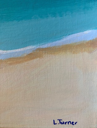 (CreativeWork) Island Getaway Original Painting by Lisa Turner. Acrylic Paint. Shop online at Bluethumb.