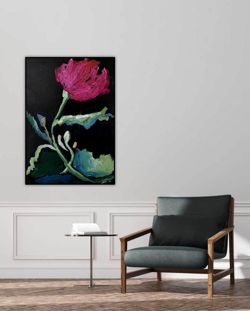 (CreativeWork) Drawn by Amy Kim. Acrylic Paint. Shop online at Bluethumb.