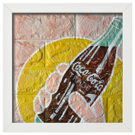 (CreativeWork) 'Coca Cola #1'  by Donovan Christie. Acrylic Paint. Shop online at Bluethumb.