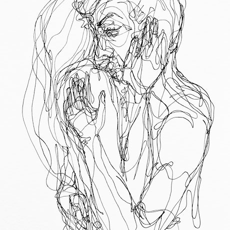 (CreativeWork) Don't Let Go - Whisper to my ear by Irma Calabrese. Drawings. Shop online at Bluethumb.