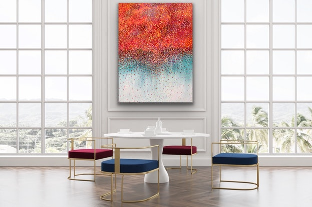 (CreativeWork) Autumn Bliss  by Theo Papathomas. Acrylic Paint. Shop online at Bluethumb.