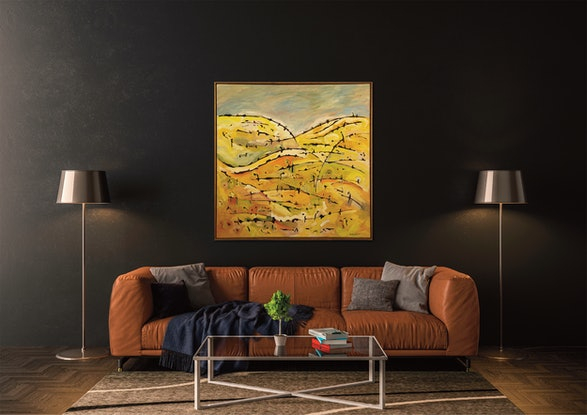 (CreativeWork) Sedgwick I by Michael Wolfe. Acrylic Paint. Shop online at Bluethumb.