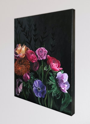 (CreativeWork) Bloom by Sandra Vincent. Acrylic Paint. Shop online at Bluethumb.