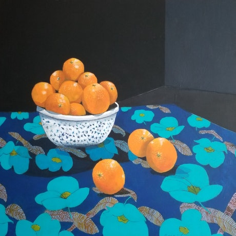(CreativeWork) Following The Leader by Christine McLean. Acrylic Paint. Shop online at Bluethumb.