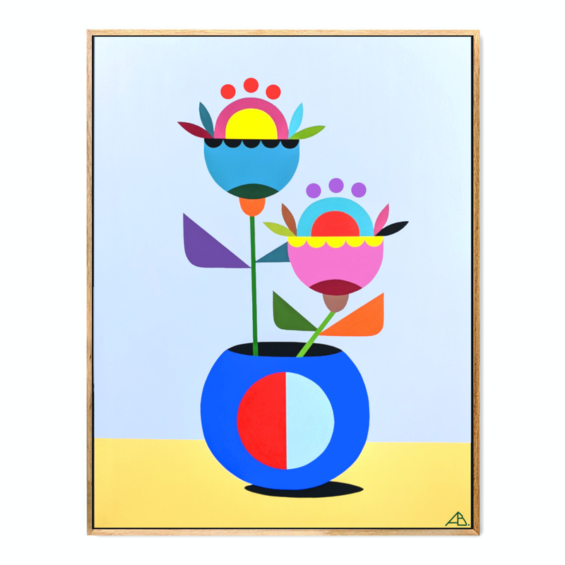 (CreativeWork) Still Life No.50 by Andria Beighton. Acrylic Paint. Shop online at Bluethumb.