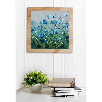 (CreativeWork) A Blessing of Some Kind  by Tanya Keenan. Acrylic Paint. Shop online at Bluethumb.