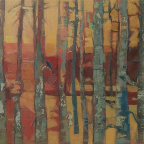 (CreativeWork) Autumnal Light by Tetyana Khytko. Oil Paint. Shop online at Bluethumb.