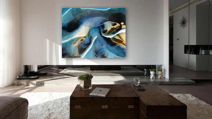 (CreativeWork) River Song by Dinah Wakefield. Acrylic. Shop online at Bluethumb.
