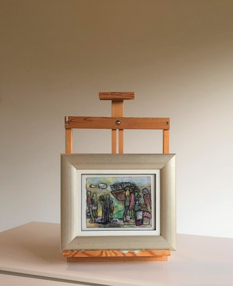 (CreativeWork) A Certain Grandeur by Chris Rowe. Mixed Media. Shop online at Bluethumb.