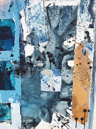 (CreativeWork) The Return by Bryn Newman. Mixed Media. Shop online at Bluethumb.