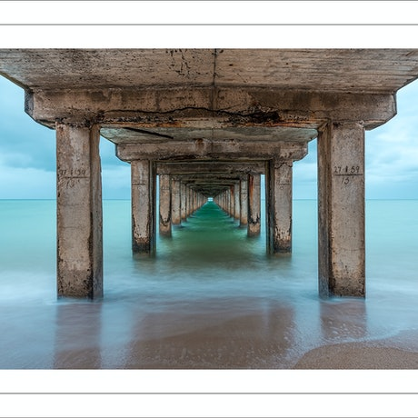 (CreativeWork) Dromana Pier Ed. 55 of 200 by Nick Psomiadis. Photograph. Shop online at Bluethumb.