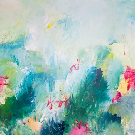 (CreativeWork) CHANGING TIDES - Modern Abstract by Rose Hewartson. Acrylic Paint. Shop online at Bluethumb.