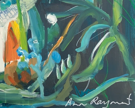 (CreativeWork) Tropical Dance by Ann Rayment. Mixed Media. Shop online at Bluethumb.