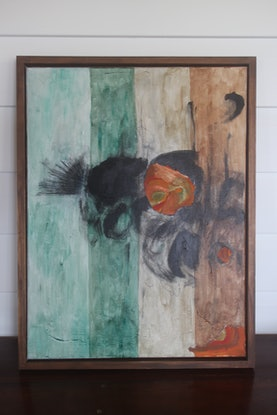 (CreativeWork) After the beach  by Odessa Mahony-de Vries. Mixed Media. Shop online at Bluethumb.