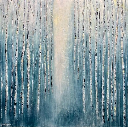 (CreativeWork) Come walk with me by Julie Dynan. Acrylic Paint. Shop online at Bluethumb.