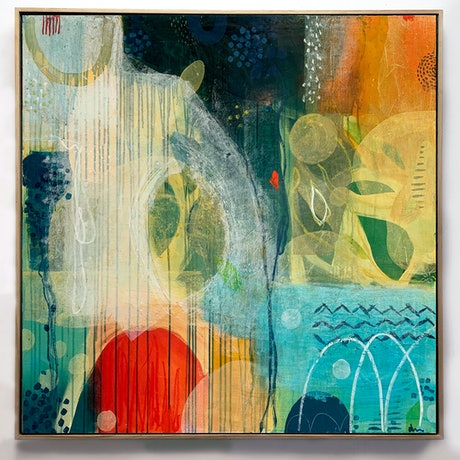 (CreativeWork) Dream Come True by Amanda Ketterer. Mixed Media. Shop online at Bluethumb.