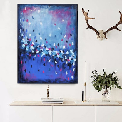 (CreativeWork) Sunset Dreaming Again  by Belinda Nadwie. Oil Paint. Shop online at Bluethumb.