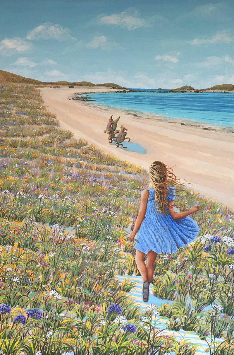(CreativeWork) Will you, won't you join the dance? by Sue Smith. Acrylic Paint. Shop online at Bluethumb.