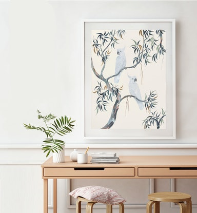 (CreativeWork) Amongst The Gums by Sally Browne. Watercolour Paint. Shop online at Bluethumb.