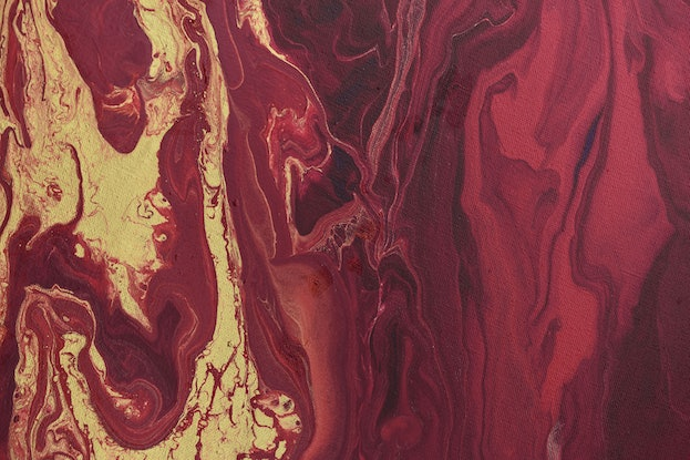 (CreativeWork) Dragon's Blood by Brigitte Ackland. Acrylic Paint. Shop online at Bluethumb.