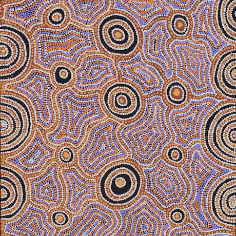 (CreativeWork) Walu #139-19 by Ethel (Narelle) Holland. Acrylic Paint. Shop online at Bluethumb.