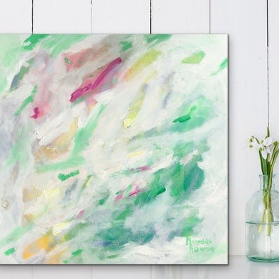 (CreativeWork) Opal Candy by Meredith Howse. Acrylic Paint. Shop online at Bluethumb.