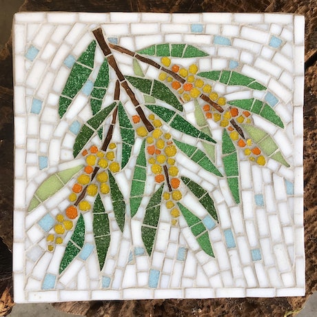 (CreativeWork) Wattle by Natalie Kouts. Other Media. Shop online at Bluethumb.