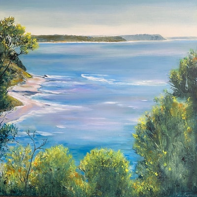 (CreativeWork) North of Flinders by Ben Musgrove. Acrylic Paint. Shop online at Bluethumb.