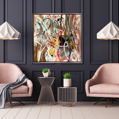 (CreativeWork) Sweet and Lovely  by Shane Bowden. Acrylic Paint. Shop online at Bluethumb.