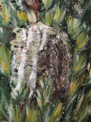 (CreativeWork) FEELS LIKE HOME - Silver Banksia  - Ltd Ed Print  Ed. 1 of 100 by HSIN LIN. Print. Shop online at Bluethumb.