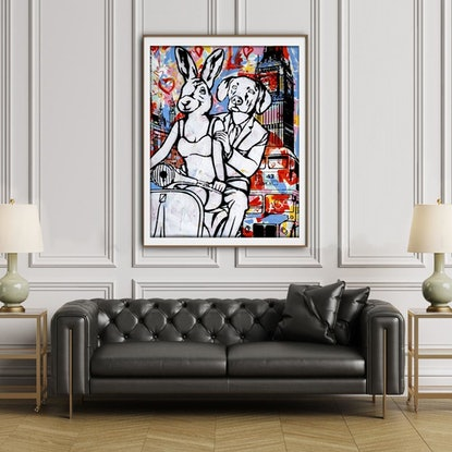 (CreativeWork) They were Londoners by Gillie and Marc Schattner. Print. Shop online at Bluethumb.