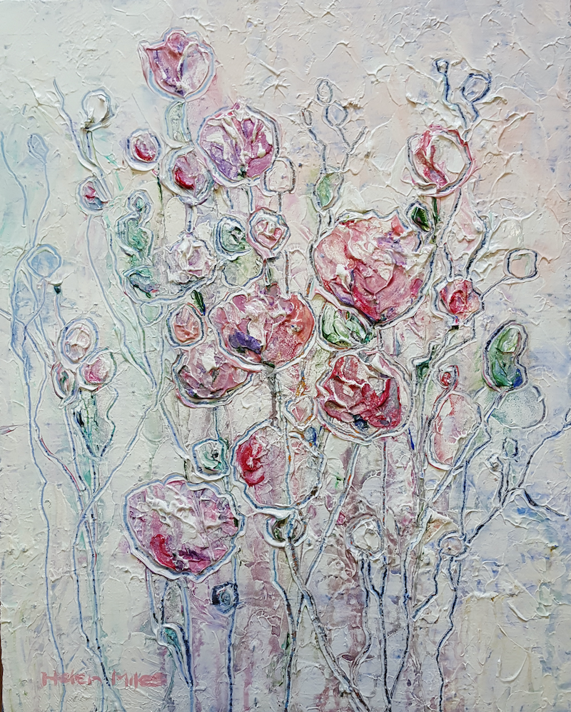 (CreativeWork) Composed by Helen Miles. Acrylic Paint. Shop online at Bluethumb.