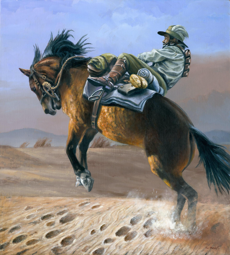 (CreativeWork) ABOUT TO LOSE IT by Ron and Jennifer Marshall. Oil Paint. Shop online at Bluethumb.