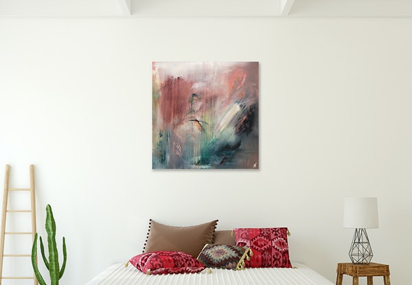 (CreativeWork) Eleven Skies by Ryan Findlay. Oil Paint. Shop online at Bluethumb.