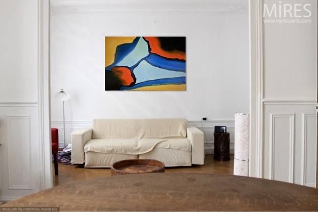 (CreativeWork) Colors  Of The Land by owen jones. Oil Paint. Shop online at Bluethumb.