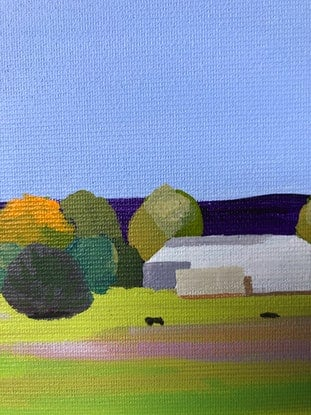 (CreativeWork) Passing Bodalla - Original Painting by Lisa Turner. Acrylic Paint. Shop online at Bluethumb.