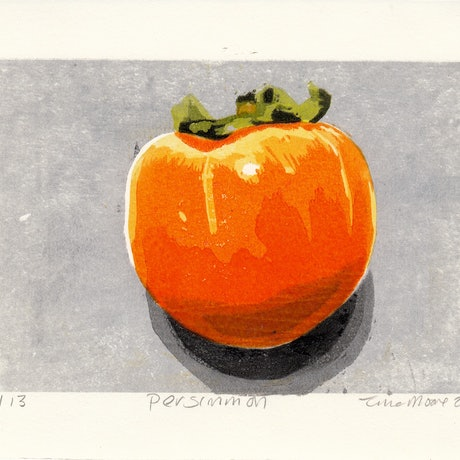 (CreativeWork) Persimmon Ed. 1 of 1 by Tina Moore. Print. Shop online at Bluethumb.